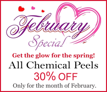 30% Off Chemical Peels