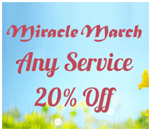 March special 20% OFF